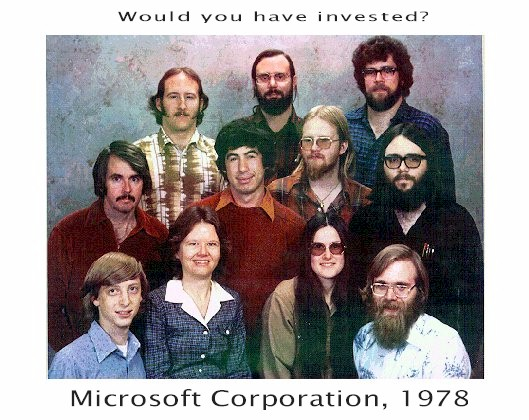 Microsoft Would You Have Invested